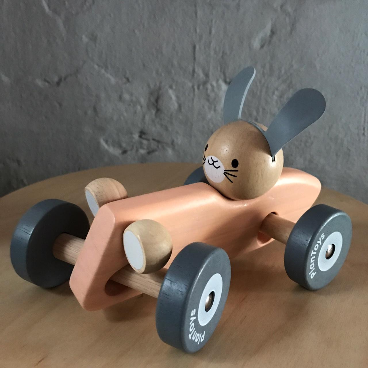 Racerbil Kanin Pastell